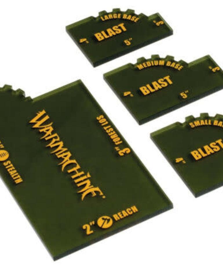 Privateer Press - PIP Warmachine - Quick Measuring Set (4)