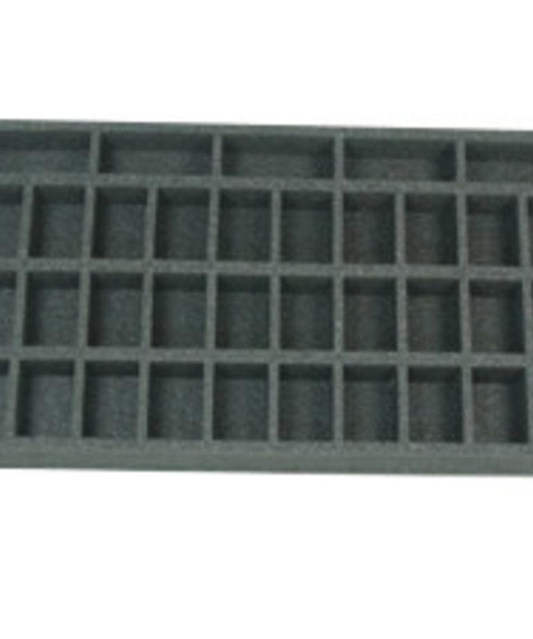 Battle Foam - BAF Battle Foam: Trays - Warmachine/Hordes - Small Troop Tray (PP-1.5)