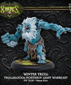 Privateer Press - PIP Hordes - Trollbloods - Winter Troll - Northkin Light Warbeast