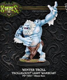 Privateer Press - PIP Hordes - Trollbloods - Winter Troll - Light Warbeast