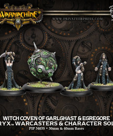 Privateer Press - PIP Witch Coven of Garlghast & Egregore (Witch Coven 1)
