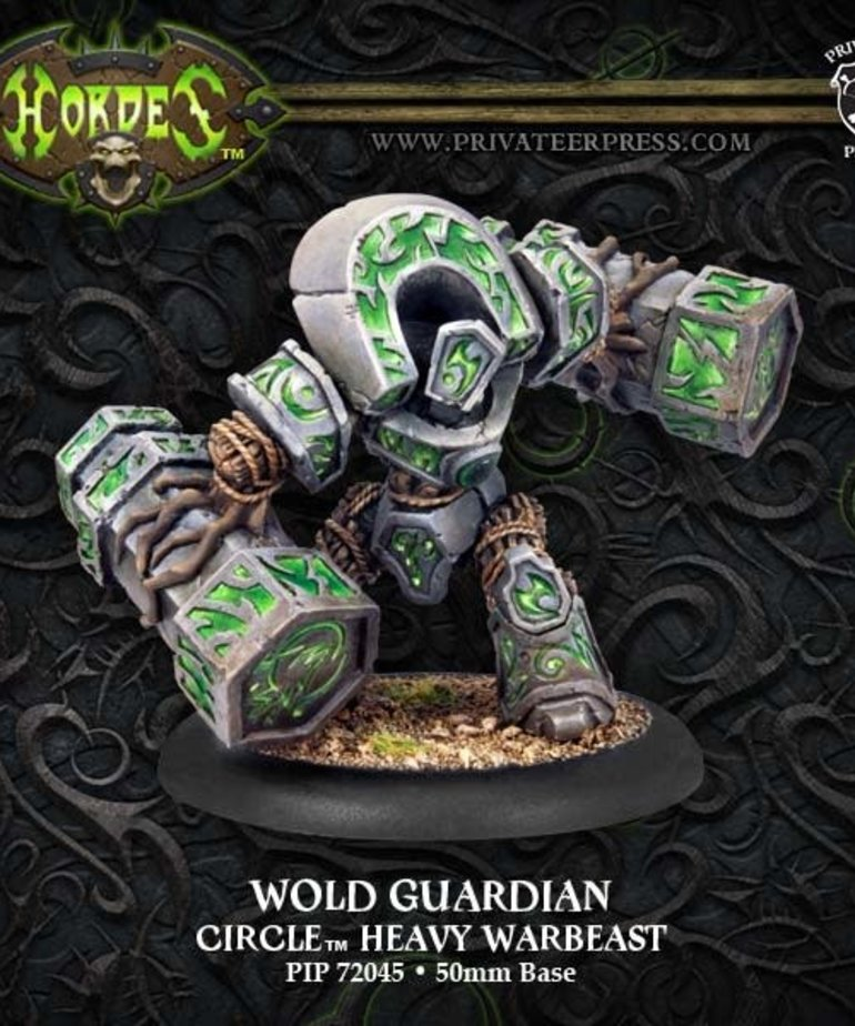 Privateer Press - PIP Hordes - Circle Orboros - Wold Guardian - Heavy Warbeast