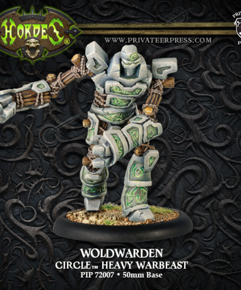 Privateer Press - PIP Hordes - Circle Orboros - Woldwarden - Heavy Warbeast