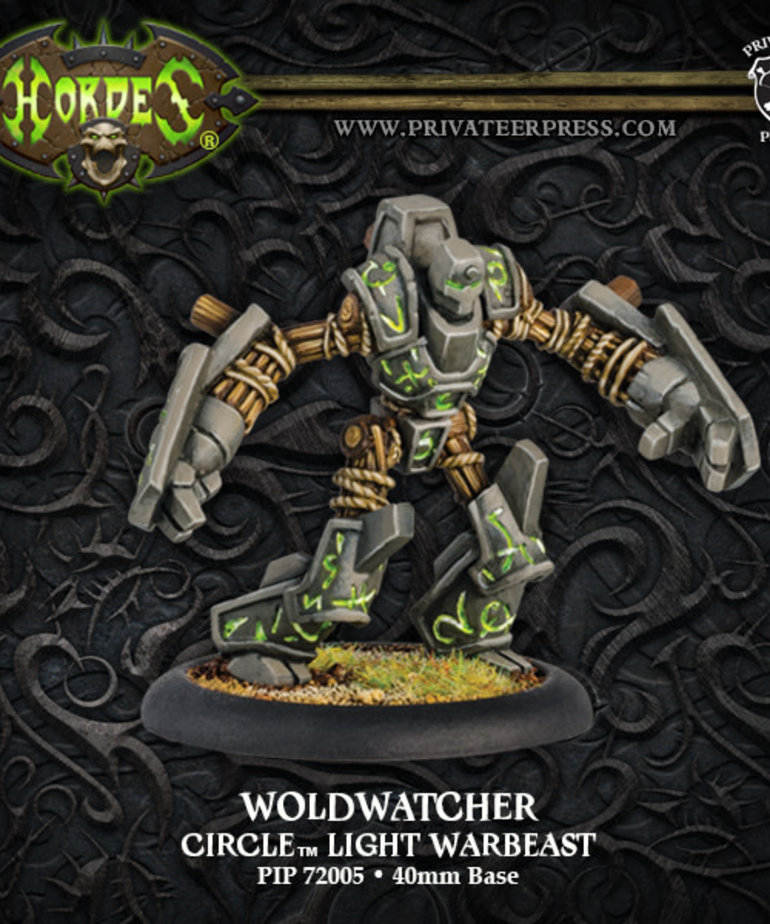 Privateer Press - PIP Hordes - Circle Orboros - Woldwatcher - Light Warbeast