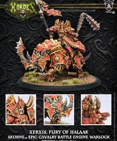Privateer Press - PIP Hordes - Skorne - Xerxis, Fury of Halaak - Epic Cavalry Battle Engine Warlock (Xerxis 2)