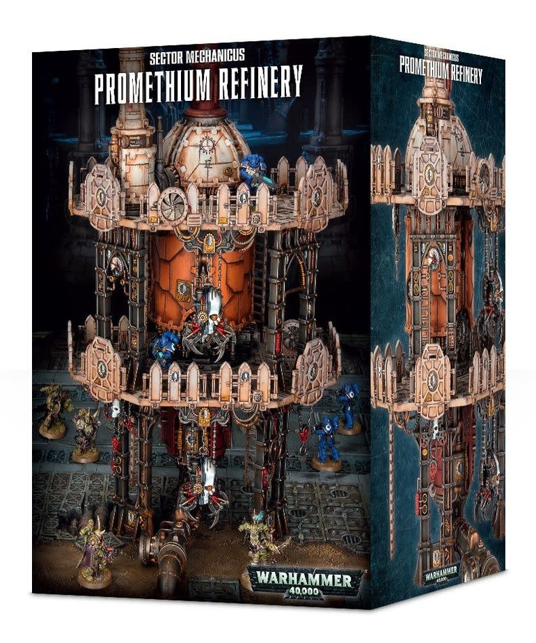 Games Workshop - GAW Promethium Refinery (Domestic Orders Only)