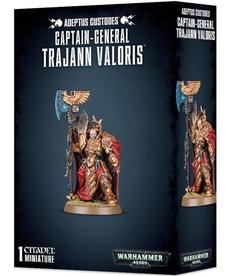 Games Workshop - GAW Warhammer 40k - Adeptus Custodes - Captain-General Trajann Valoris