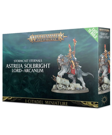 Games Workshop - GAW Warhammer Age of Sigmar - Stormcast Eternals - Astreia Solbright, Lord-Arcanium - Easy to Build