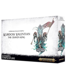 Games Workshop - GAW Warhammer Age of Sigmar - Nighthaunt - Kurdoss Valentian, the Craven King