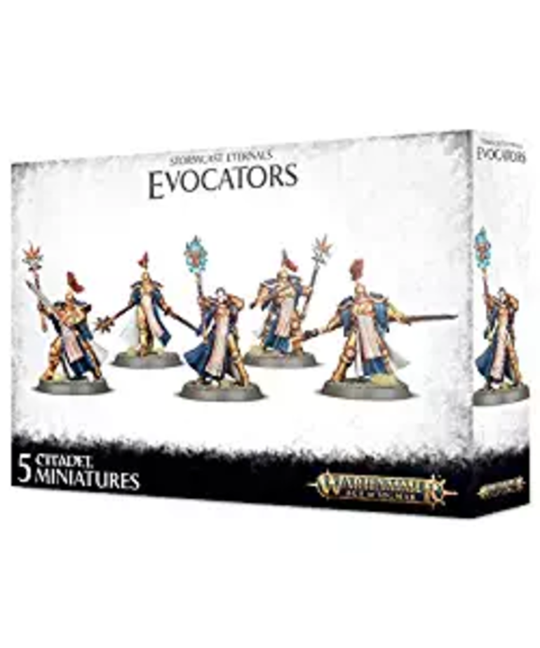 Games Workshop - GAW Warhammer Age of Sigmar - Stormcast Eternals - Evocators