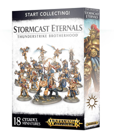 Games Workshop - GAW Warhammer Age of Sigmar - Start Collecting!: Stormcast Eternals - Thunderstrike Brotherhood