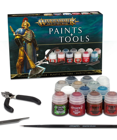 Games Workshop - GAW CLEARANCE - Warhammer Age of Sigmar Paints and Tools Set