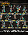 Privateer Press - PIP Warmachine - Crucible Guard - Infantry - Unit with Attachments