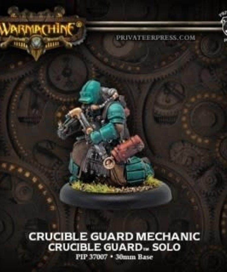 Privateer Press - PIP Warmachine - Crucible Guard - Mechanic - Solo