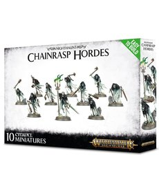 Games Workshop - GAW Warhammer Age of Sigmar - Nighthaunt - Chainrasp Hordes - Easy to Build