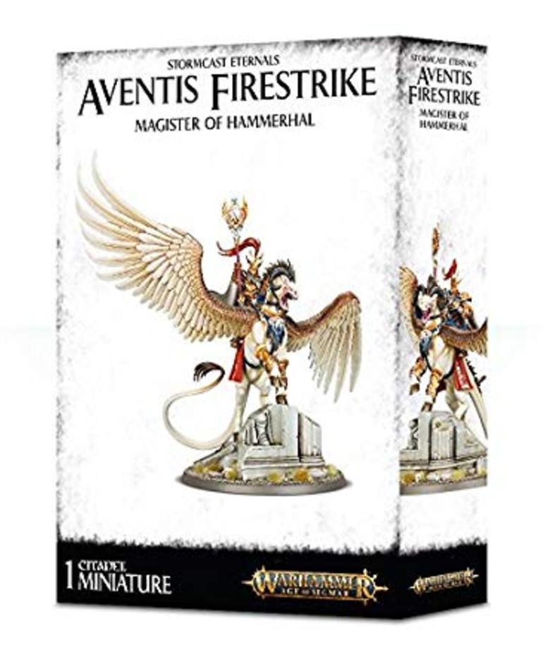 Games Workshop - GAW Warhammer Age of Sigmar - Stormcast Eternals - Aventis Firestrike, Magister of Hammerhal
