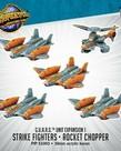 Privateer Press - PIP Monsterpocalypse - G.U.A.R.D - Strike Fighters & Rocket Chopper - Unit Expansion 1