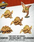 Privateer Press - PIP Monsterpocalypse - Planet Eaters - Chompers, Destructomite & Explodohawk - Unit Expansion 1