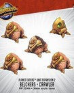 Privateer Press - PIP Monsterpocalypse - Planet Eaters - Belchers & Crawler - Unit Expansion 2