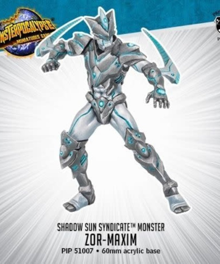 Privateer Press - PIP Monsterpocalypse - Protectors - Shadow Sun Syndicate - Zor-Maxim - Monster