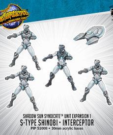 Privateer Press - PIP Monsterpocalypse - Protectors - Shadow Sun Syndicate - S-Type Shinobi & Interceptor - Unit Expansion 1