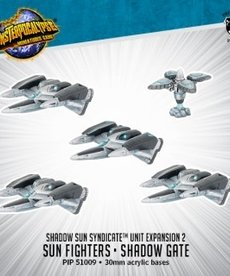 Privateer Press - PIP Monsterpocalypse - Protectors - Shadow Sun Syndicate - Sun Fighters & Shadow Gate - Unit Expansion 2