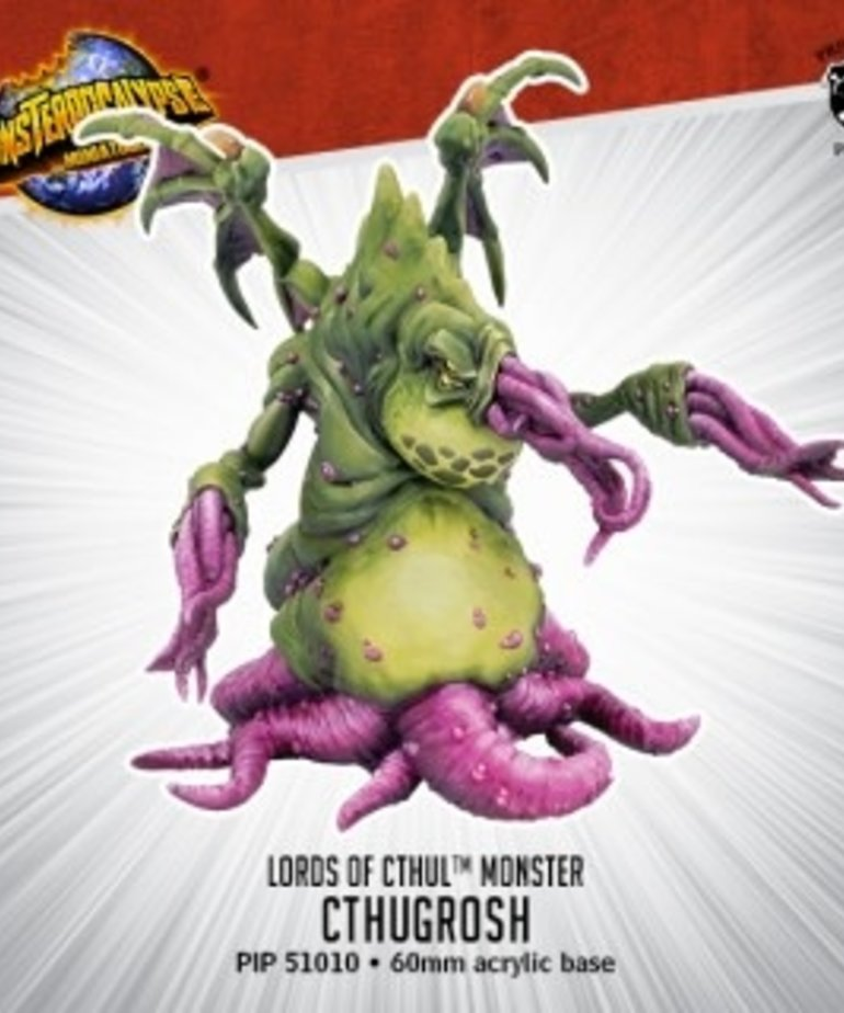 Privateer Press - PIP Monsterpocalypse - Destroyers - Lords of Cthul - Cthugrosh - Monster