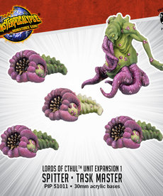 Privateer Press - PIP Monsterpocalypse - Destroyers - Lords of Cthul - Spitter & Task Master - Unit Expansion 1