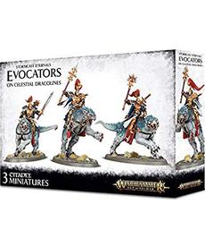 Games Workshop - GAW Warhammer Age of Sigmar - Stormcast Eternals - Evocators on Celestial Dracolines