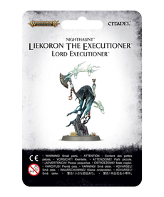 Games Workshop - GAW Warhammer Age of Sigmar - Nighthaunt - Liekoron the Executioner