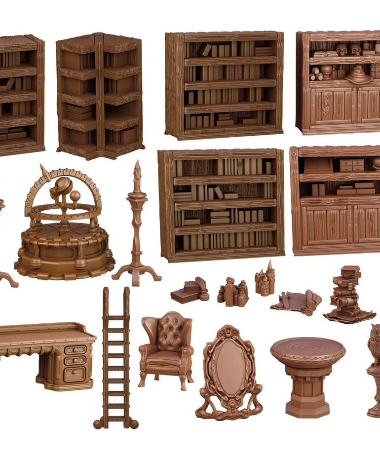 Mantic Entertainment, LTD - MGC Terrain Crate - Wizard's Study