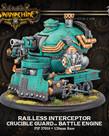 Privateer Press - PIP Warmachine - Crucible Guard - Railless Interceptor - Battle Engine