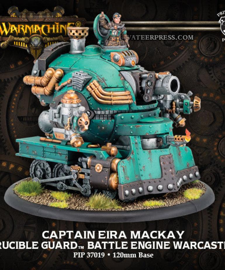 Privateer Press - PIP Warmachine - Crucible Guard - Captain Eira Mackay - Battle Engine Warcaster (Mackay 1)