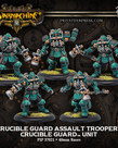 Privateer Press - PIP Warmachine - Crucible Guard - Assault Troopers - Unit