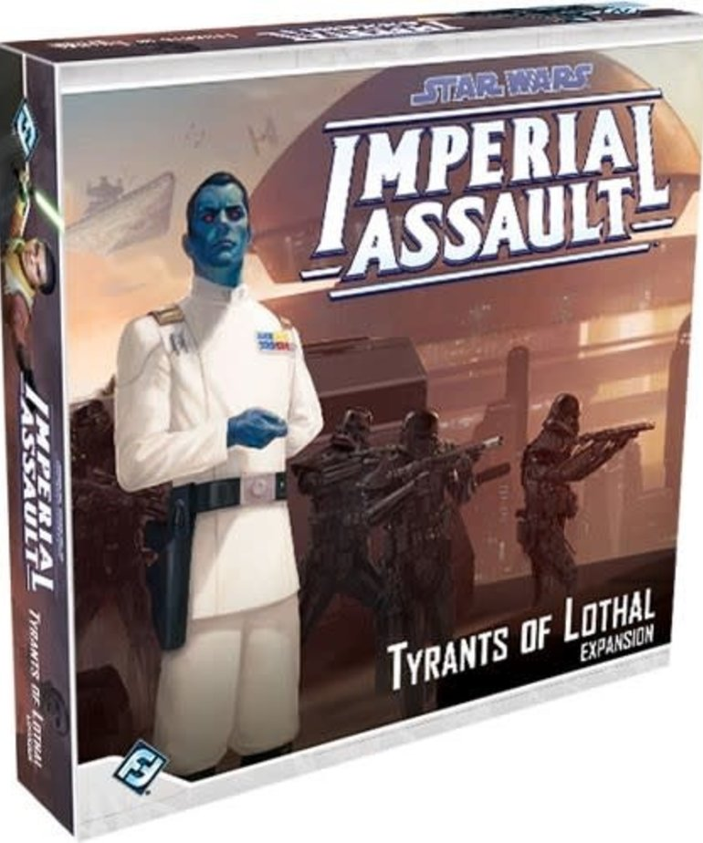 Fantasy Flight Games - FFG Star Wars: Imperial Assault - Tyrants of Lothal - Expansion