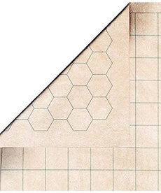 "Chessex - CHX Reversible Battlemat 1"" Sq/Hex"