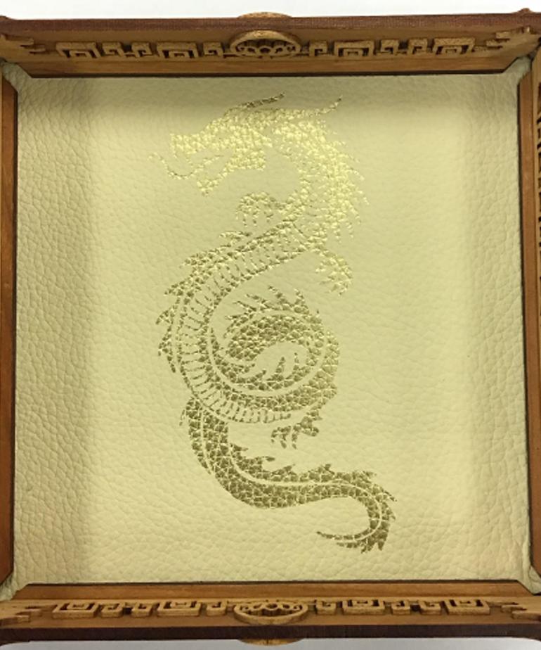 Elderwood Academy Elderwood Academy: Scroll Rolling Tray White - Serpent