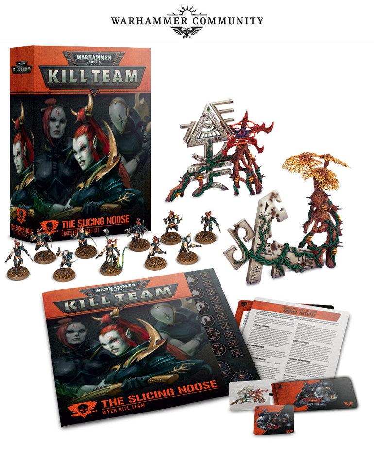 Games Workshop - GAW Warhammer 40K: Kill Team - The Slicing Noose - Drukhari Starter Set