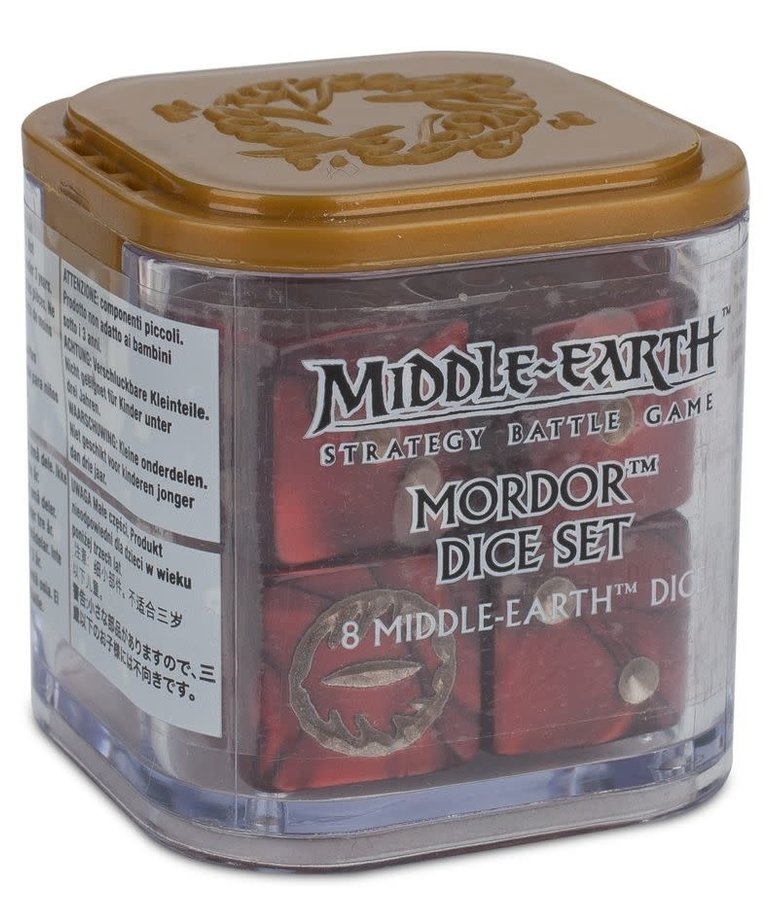 Games Workshop - GAW Middle-Earth: Mordor Dice Set