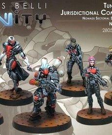 Corvus Belli - CVB Infinity: Nomads - Tunguska Jurisdictional Command (Nomads Sectorial Starter Box)