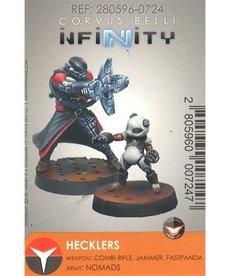 Corvus Belli - CVB Infinity: Nomads - Hecklers (Combi Rifle)