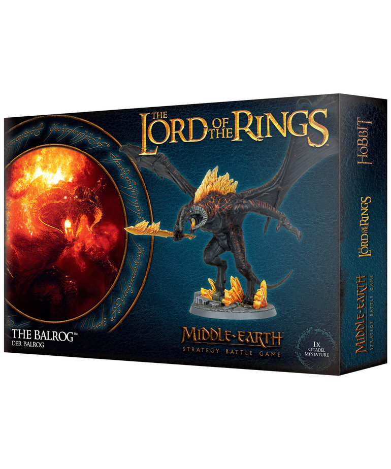 Games Workshop - GAW Middle-Earth Strategy Battle Game: The Lord of the Rings - The Balrog (Domestic Orders Only)