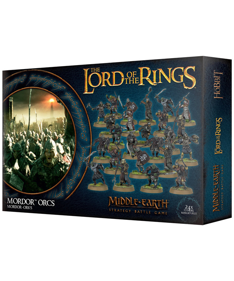 Games Workshop - GAW Middle-Earth Strategy Battle Game: The Lord of the Rings - Mordor Orcs (Domestic Orders Only)