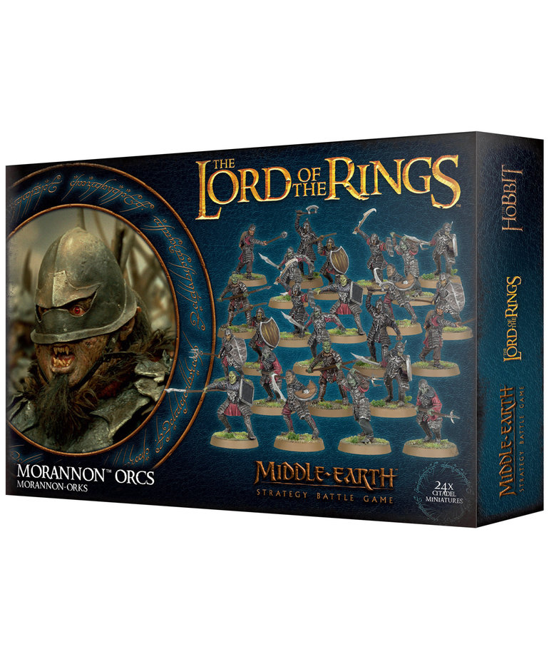 Games Workshop - GAW Middle-Earth Strategy Battle Game: The Lord of the Rings - Morannon Orcs (Domestic Orders Only)
