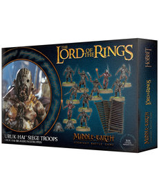 Games Workshop - GAW Middle-Earth Strategy Battle Game: The Lord of the Rings - Uruk-Hai Siege Troops (Domestic Orders Only)