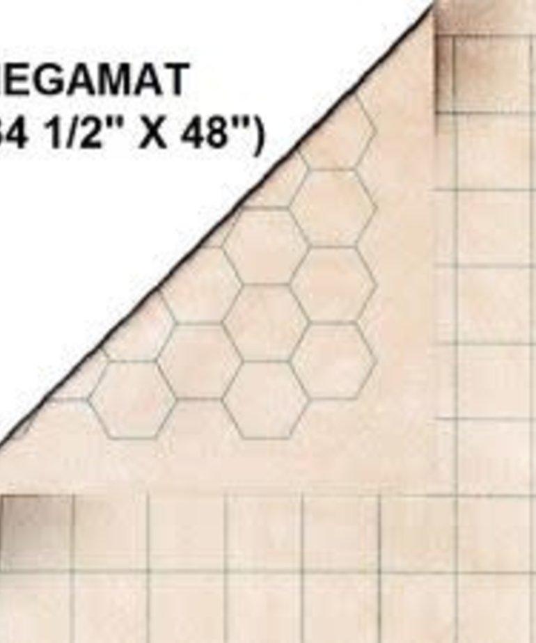 "Chessex - CHX Reversible Megamat 1"" sq/hex"
