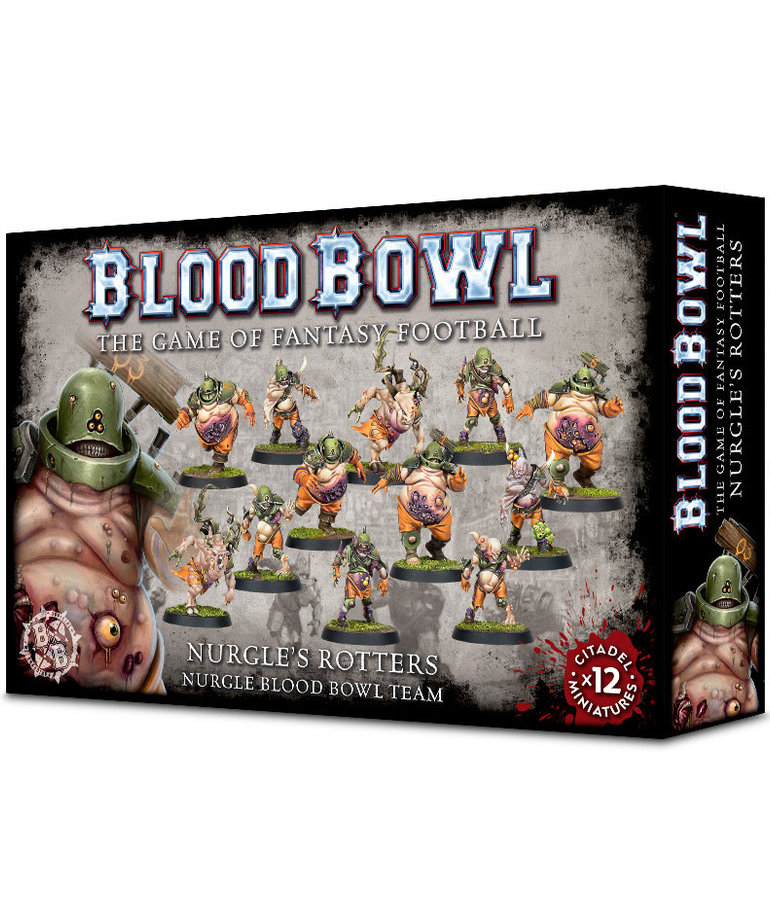 Games Workshop - GAW Blood Bowl - Nurgle Team - Nurgle's Rotters