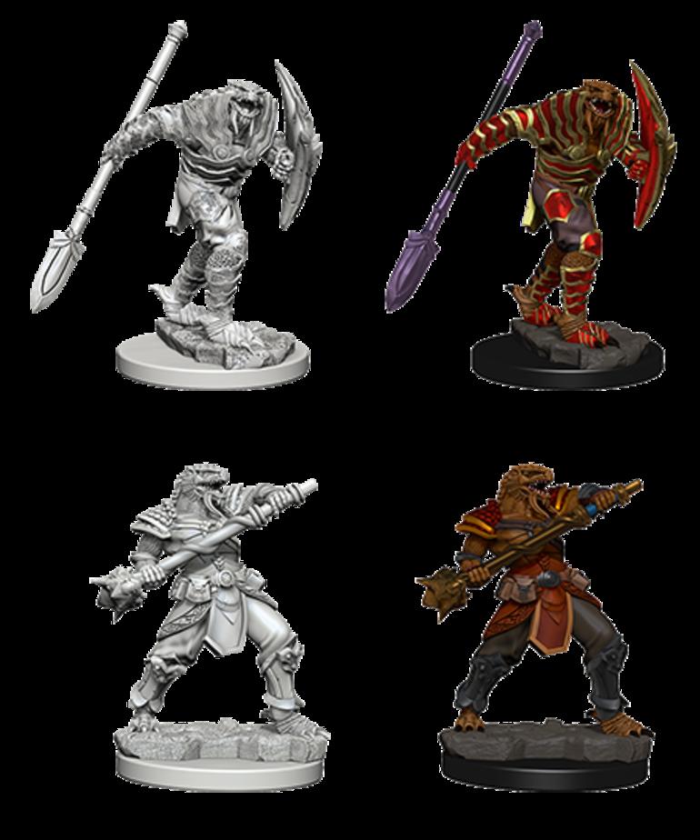 WizKids - WZK D&D: Nolzur's Marvelous Minatures - Dragonborn Fighter with Spear