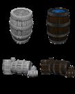 WizKids - WZK WizKids: Deep Cuts - Barrels & Pile of Barrels