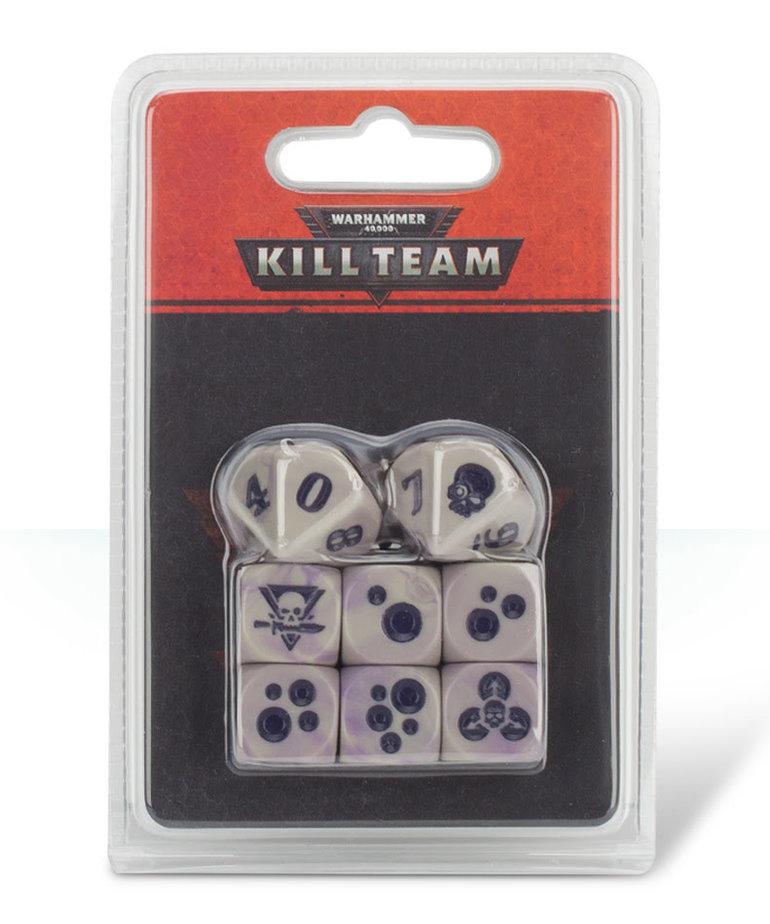 Games Workshop - GAW Warhammer 40K: Kill Team - Gellerpox Infected Dice
